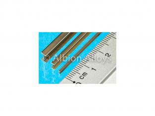 Albion Alloys IB4 1 poutre en I laiton 4mm x 2mm x 305mm