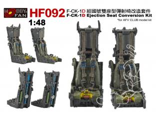 Hobby Fan HF092 kit de conversion Kit de conversion de siège éjectable F-CK-1D pour kit AFV Club 1/48