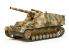 TAMIYA maquette militaire 35367 HUMMEL ALLEMAND CANON AUTOMOTEUR ALLEMAND (PRODUCTION TARDIVE) 1/35
