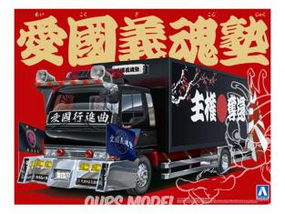 Aoshima maquette camion 11096 Ardent Patriot 1/32