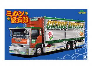 Aoshima maquette camion 52075 Orange Mitsugoro 1/32