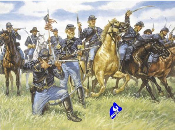 Italeri maquette historique 6013 cavalerie de l&39union 1/72