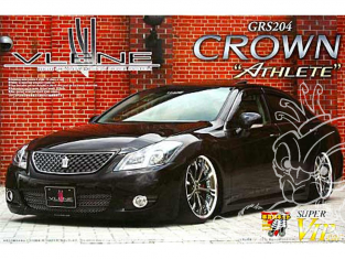 Aoshima maquette voiture 47392 Vlene Toyota Crown Athlete GRS204 1/24