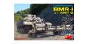 Mini Art maquette militaire 37043 BMR-1 UKRAINIEN avec KMT-9 mine roller 1/35
