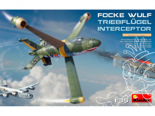 Mini Art maquette avion 40002 FOCKE WULF INTERCEPTEUR TRIEBFLUGEL 1/35