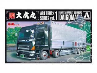 Aoshima maquette camion 50460 Naritashouji Daigomaru 1/32
