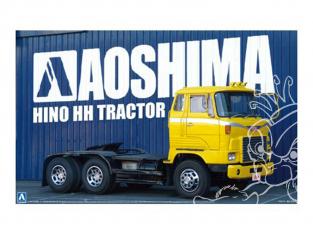 Aoshima maquette camion 07730 Hino HH Tracteur 1/32