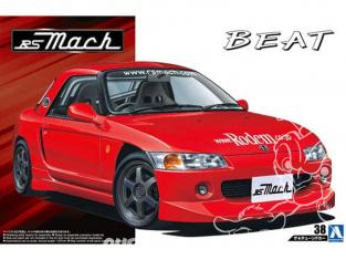 Aoshima maquette voiture 41710 Honda Beat RS Mach 1/24