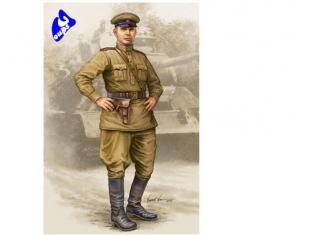 Trumpeter figurine militaire 00704 OFFICIER TANKISTE SOVIETIQUE