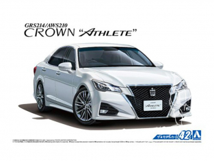 Aoshima maquette voiture 50811 Toyota Crown Athlete GRS214 / AWS210 2015 1/24