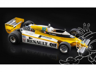Italeri maquette voiture 4707 Renault RE20 Turbo 1/12