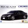 Aoshima maquette voiture 49402 Rojam Toyota Crown Athlete GRS204 1/24