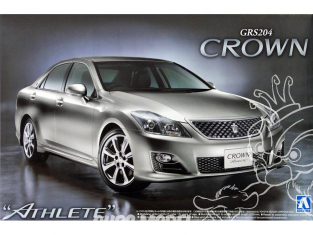 Aoshima maquette voiture 43684 Toyota Crown Athlete GRS204 1/24