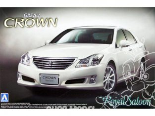 Aoshima maquette voiture 43691 Toyota Crown Royal Saloon GRS202 1/24