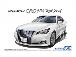 Aoshima maquette voiture 50804 Toyota Crown Royal Saloon GRS210 / AWS210 2015 1/24