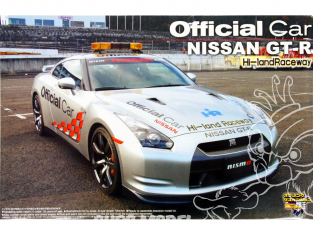 Aoshima maquette voiture 44995 Nissan R35 GT-R Official Car Hi-Land Raceway 2008 1/24
