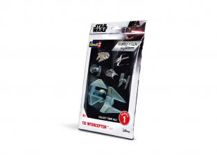 Revell Star Wars 01103 Easy-clic system TIE Interceptor