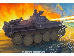 Bronco maquette militaire CB35124 Panzerkampfwagen II Flamm Ausf.E Sd.Kfz.122 1/35