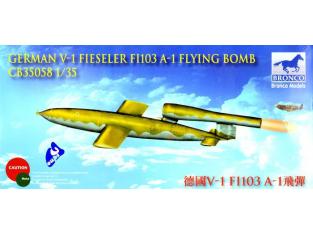 Bronco maquette avion cb35058 FIESELER FI-103 V-1 1/35
