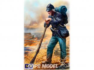 Master Box maquette figurines 35196 Un repos rapide Sergent d'infanterie de l'armée  guerre de Sécession 1/35