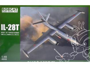 Bobcat Hobby Model Kits 48006 Ilyushin Il-28T Bombardier a torpilles soviétique 1/48