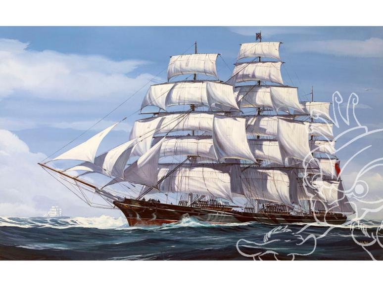 revell maquette bateau 5430 150ème anniversaire du Cutty Sark 1/220