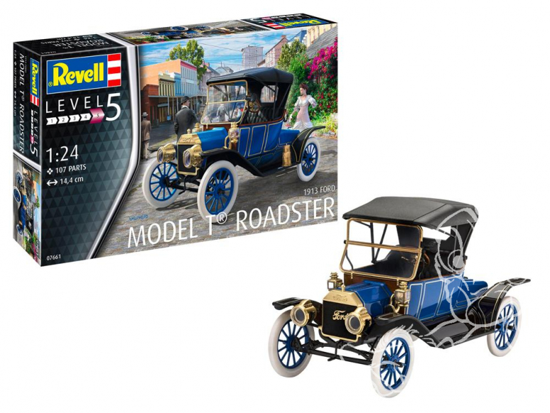 Revell maquette voiture 07661 Ford T Roadster (1913) 1/24