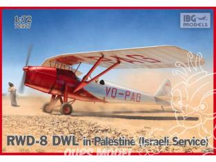 IBG maquette avion 72527 RWD-8 DWL en Palestine 1/72