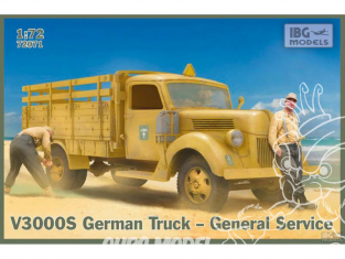 IBG maquette militaire 72071 Magirus Type S Allemand WWII 1/72
