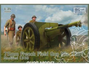 IBG maquette militaire 35056 Canon de campagne français de 75 mm Mle 1897 1/35