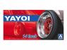 "Aoshima maquette voiture 52563 Jantes Yakoi 14"" et pneus 1/24"