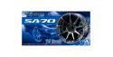 """Aoshima maquette voiture 54635 Jantes WadsSport SA-70 18"""" et pneus 1/24"""
