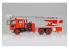Aoshima maquette camion 012079 CAMION D'ÉCHELLE D'INCENDIE (DÉPARTEMENT D'INCENDIE MUNICIPAL OTSU) 1/72