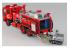 Aoshima maquette camion 012062 CAMION DE POMPAGE CHIMIQUES DE POMPIERS 1/72