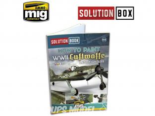 MIG Librairie 6502 Solution Book - Comment peindre des chasseur de la Luftwaffe WWII en Français (Multilangues)