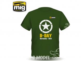 MIG T-Shirt 8029M T-shirt D-Day taille L