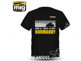 MIG T-Shirt 8030M T-shirt Normandy taille M