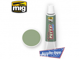 MIG 2039 Mastic acrylique - Arming Putty acrylic type