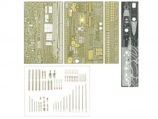 TAMIYA KIT AMELIORATION 25190  JAPANESE NAVY DESTROYER YUKIKAZE DETAIL UP SET 1/350