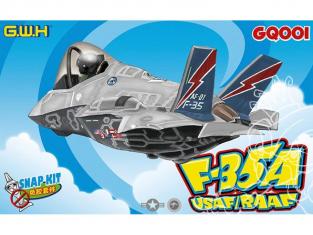 Great Wall Hobby maquette avion GQ001 F-35A USAF / RAAF