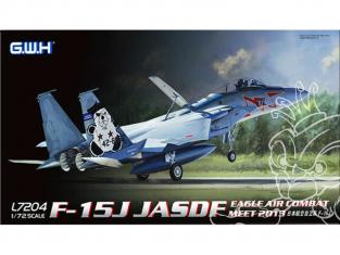 Great Wall Hobby maquette avion L7204 F-15J JASDF Eagle Air Combat Meet 2013 1/72