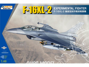 Kinetic maquette avion K48086 F-16XL-2 Chasseur Experimental 1/48