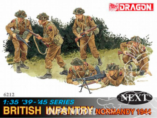 dragon maquette militaire 6212 Infanterie Britanique NORMANDY 1944 1/35