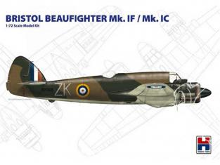 Hobby 2000 maquette avion 72002 Bristol Beaufighter Mk.IF / Mk.IC 1/72
