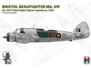 Hobby 2000 maquette avion 72003 Bristol Beaufighter Mk.VIF 1/72