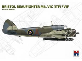 Hobby 2000 maquette avion 72004 Bristol Beaufighter Mk.VIC (ITF) / VIF 1/72