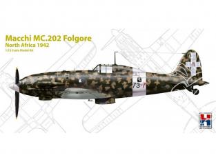 Hobby 2000 maquette avion 72006 Macchi MC.202 Folgore Afrique du Nord 1942 1/72