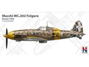 Hobby 2000 maquette avion 72007 Macchi MC.202 Folgore Russie 1942 1/72