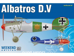 EDUARD maquette avion 8408 Albatros D.V WeekEnd Edition 1/48