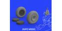 Eduard kit d'amelioration brassin 672221 Roues P-47D Tamiya 1/72